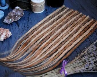 Human hair extensions dreadlock