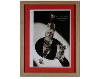 Schweppes Tonic Framed Vintage Advertisment