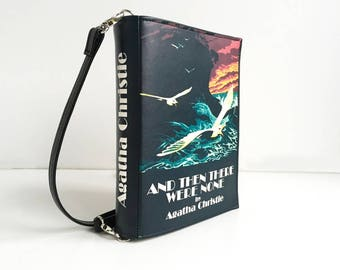 Agatha Christie Leather Book Bag And Then There Were None Book Purse