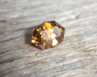 Zircon Loose Natural Faceted Gemstone