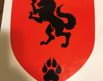 Customizable Heraldry Decal