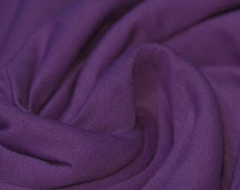Purple Jersey (240gsm, 94/6 Cotton/Elastane) *UK*