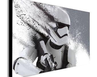 HD Stormtrooper Star Wars Canvas Wall Art Print