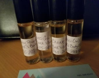 YORK'S BODY OILS
