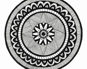 Mandala Project: Monday