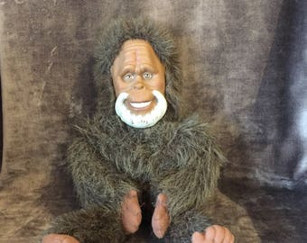 Vintage Galoob Harry and the Hendersons plush teddy stuffie