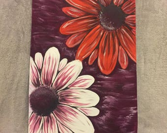 Acrylic flower original painting