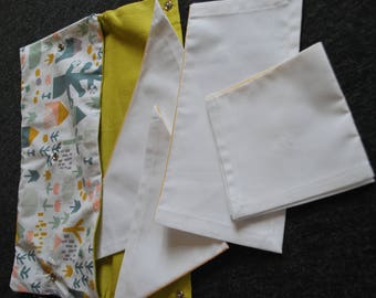 Set of folding / precision, practical life and geometry / Inspiration Montessori