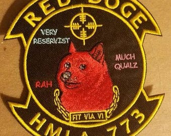 HMLA-773 Red Doge Patch