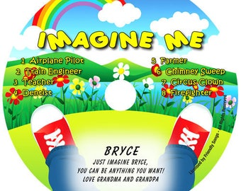 Personalized children's music CD - Your Child's Name in the song! Imagine Me