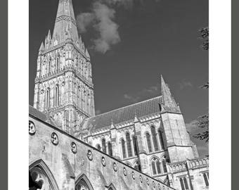 Salisbury Cathedral - Framed Photograph