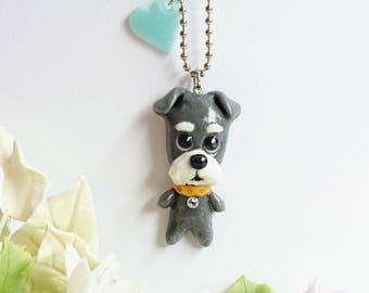 Pendant brooch charm of schnauzers, miniature schnauzers, schnauzers, Schnauzer, dog accessories Accessories
