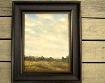 Original Oil Painting By RM Rees