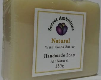 Natural soap with Cocoa butter