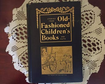 19th Century Book - Old Fashioned Children's Books - Made in the 1800's