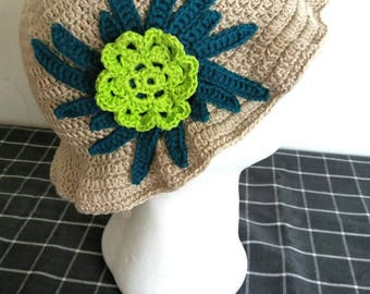 Summer Hat Girl