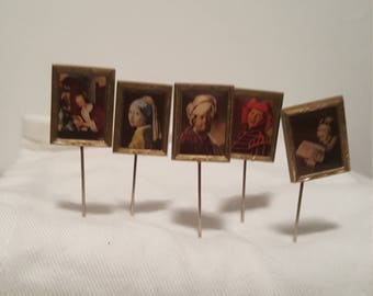 pins of Dutch masters