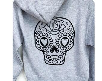 Kids Hoodie Sugar skull