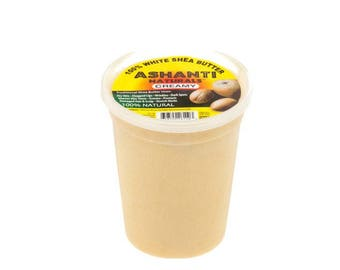Unrefined African Creamy Shea Butter - 28oz
