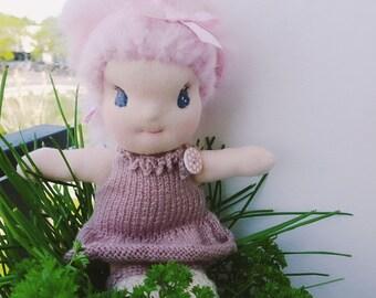 Rosi, doll type Waldorf 24 cm tall
