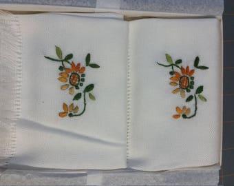 FergieLand Hand Embroidered Vintage Linen