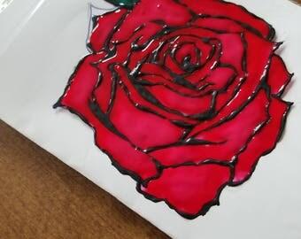 Rose Window Decoration