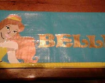 Belle Duct Tape Clutch Wallet