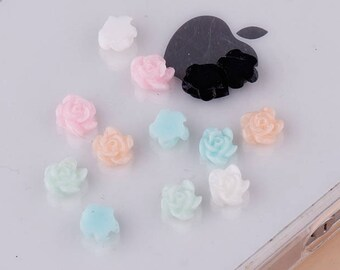 Pastel rose cabochon 24 5 mm all CLI