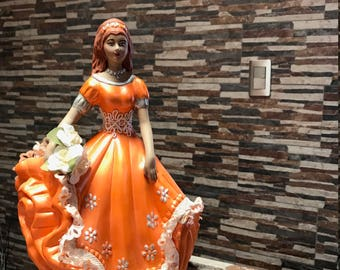 Ceramic doll for sweet sixteen