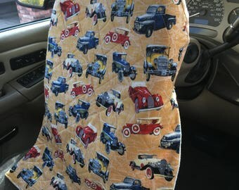 Quilted Steering Wheel Cover