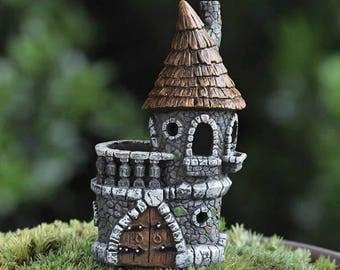 Fairy garden fairy house Fiddlehead fairy castle