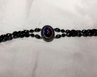 Starry Blue Magnetic Hematite Bracelet