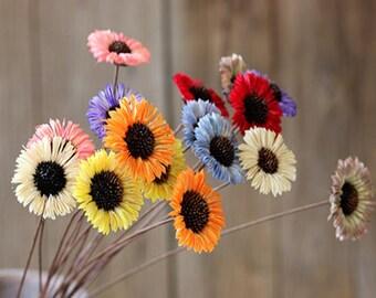 8pcs Artificial Hand-made Gardenia Flower