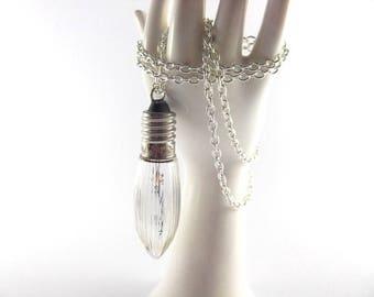 Bulb necklace vintage