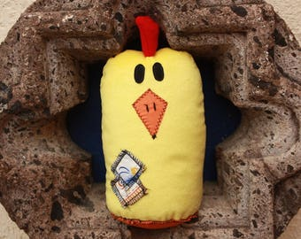 Rooster Plush Doll