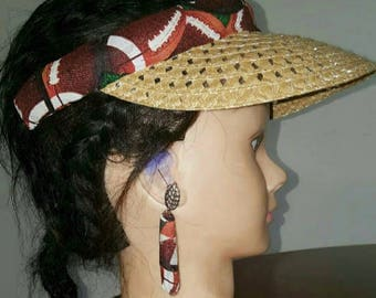 Ankara Accessories (Hats and earrings)