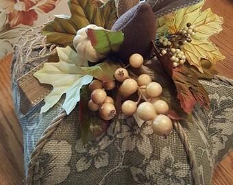 Handcrafted Pumpkin Centerpiece