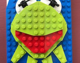 Kermit The Frog Lego® Portrait