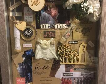 Wedding Keepsake Shadowbox