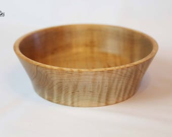 "Curly Maple Bowl- 7 3/4"" x 2 3/8"""