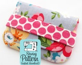 Card Wallets PDF Sewing Pattern | Business or Gift Card Case Wallet PDF Pattern Sewing