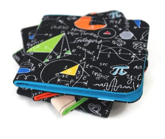 Mens Wallet / Super Thin Minimalist Billfold / Vegan / Geek Gear