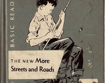 The New More Streets and Roads Cathedral Edition - The Reverend John A. O'Brien - 1954 - vintage Kids Text Book
