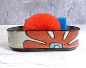 Stoneware Sponge Holder