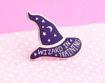Harry Potter Pin  - cute enamel pin hat badge harry potter wizard magic