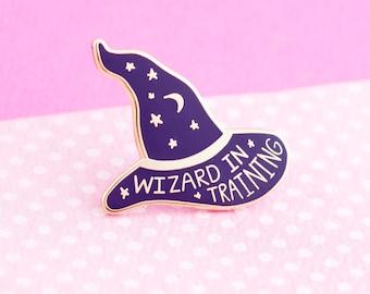 Harry Potter Enamel Pin  - cute enamel pin hat badge harry potter wizard magic