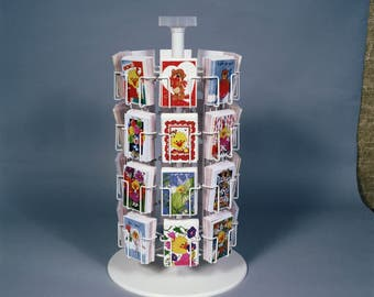 New! Gift Enclosure Note Card Display 32 pocket Floral Florist Rack Made IN THE USA