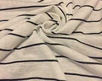 Stripes Rayon Jersey Knit 1 Yard