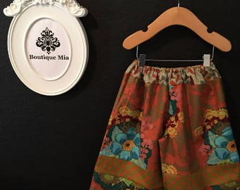 Sample SALE - Will fit Size 12-24 month - Ready to MAIL - Samurai PANTS - Anne Marie Horner - by Boutique Mia