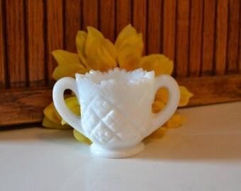 Vintage Milk Glass Toothpick Holder - Urn - Royal Hill Vintage